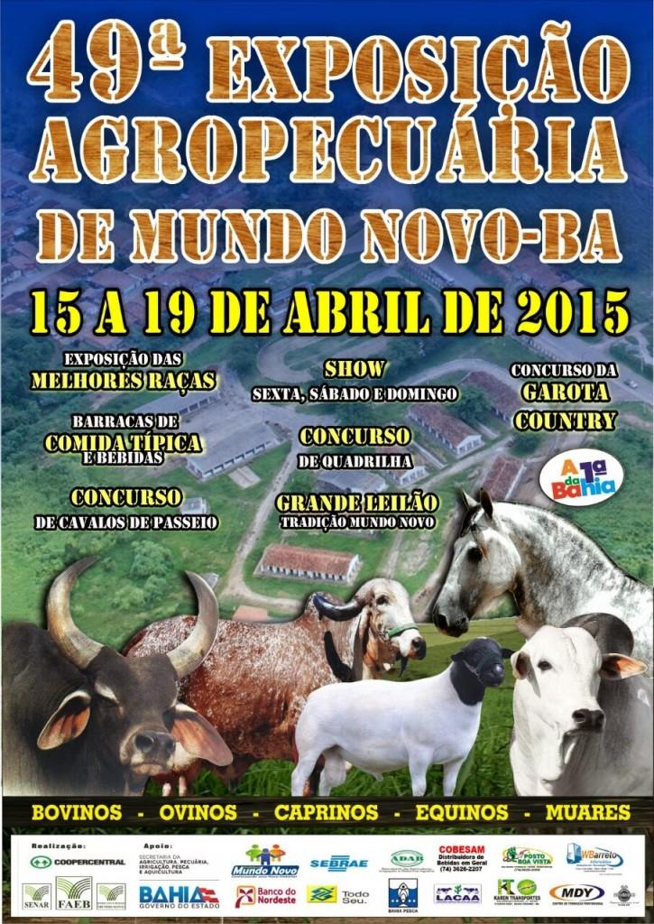 49ª Exposição Agropecuária de Mundo Novo